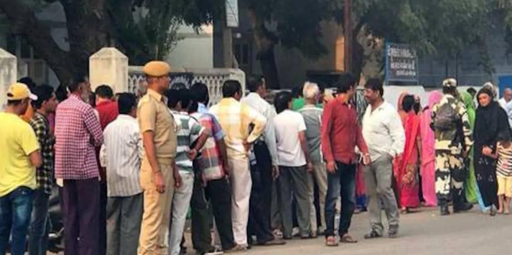 Gujarat bypolls: Over 23pc voter citizen turnout till 11 am